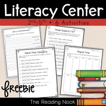 Literacy Center - FREE