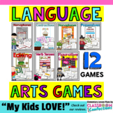 Language Arts Games: Grammar Games: Language Arts Centers: