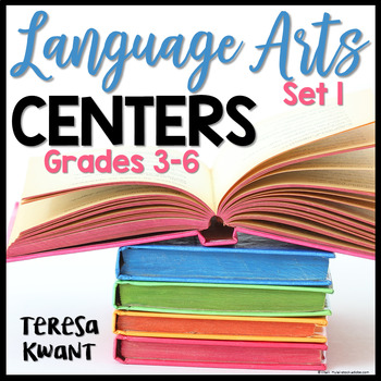 Literacy Centers for 3rd, 4th, 5th, and 6th Grade
