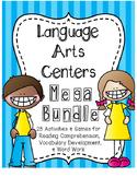 Language Arts Centers: HUGE Bundle of 25 Activities