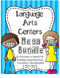 Language Arts Centers: HUGE Bundle of 25 Activities