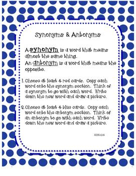 Language Arts Centers Part 2: 5 Common Core Aligned Centers
