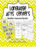 Language Arts Centers Resource Binder {Assessments, Organizers & Activities}