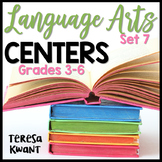 Literacy Centers for 3rd, 4th, 5th, and 6th Grade Set 7