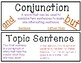 Language Arts Concepts Word Wall Cards