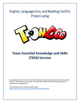 Language Arts Conflict Technology Project - TEKs Version