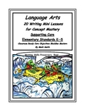 Language Arts Core (20 Writing Mini Lessons Bundled)