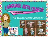 Language Arts Crafts- Are These Complete Sentences?