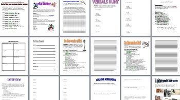 Language Arts Creativity Project