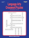 Language Arts Crosswords, Grades 3–6