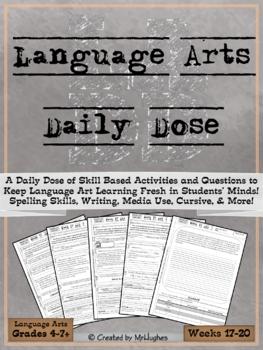 Language Arts Daily Dose {Weeks 17-20}