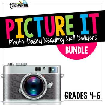 Language Arts Warm Ups - Grades 4-6: Comprehension through Pictures {Full Year}