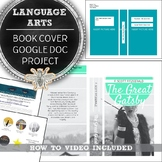 Language Arts Distance Learning Book Cover Project, Middle