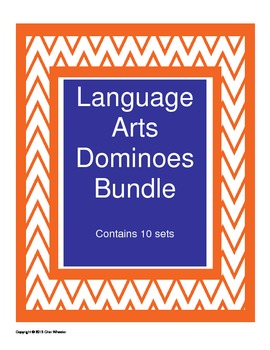 Language Arts Dominoes Bundle