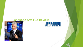 Language Arts FSA Review