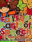 Fall Fun: Parts of Speech