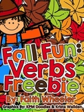 Fall Fun: Verbs Freebie