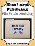 Language Arts File Folder Activity ~ Real and Fantasy