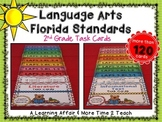 Language Arts Florida Standards (LAFS) 2nd Grade Task Cards