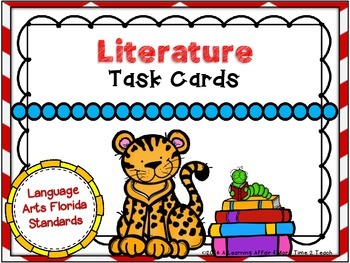 Language Arts Florida Standards (LAFS) 2nd Grade Task Cards