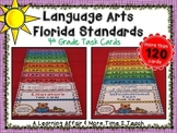 Language Arts Florida Standards (LAFS) 4th Grade Task Cards