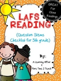 Language Arts Florida Standards (LAFS) 5th Grade Question