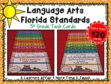 Language Arts Florida Standards (LAFS) 5th Grade Task Cards