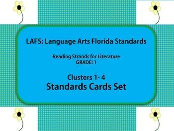 LAFS Language Arts Florida Standards - Literature- Grade 1