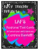 LAFS Reading Response Cards (Fiction and Non-Fiction): Com