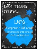 LAFS Reading Response Cards (Fiction and Non-Fiction): Cra