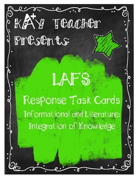 LAFS Reading Response Cards (Fiction and Non-Fiction): Integration of Knowledge