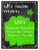 LAFS Reading Response Cards (Fiction and Non-Fiction): Int