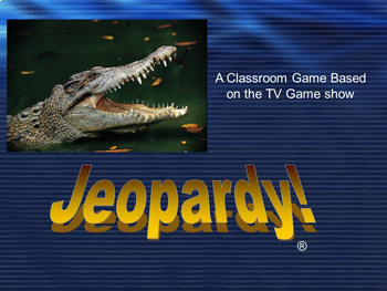 TEST PREP Language Arts Review Game Show PowerPoint - Jeopardy Style