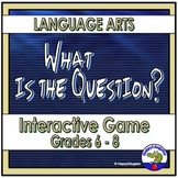 TEST PREP Language Arts Review Quiz Show PowerPoint Game - Jeopardy Style