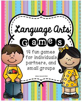 Language Arts Games & Centers