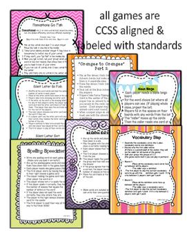 Language Arts Centers Bundle