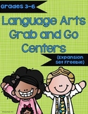 Language Arts Grab and Go Centers Expansion Set Freebie