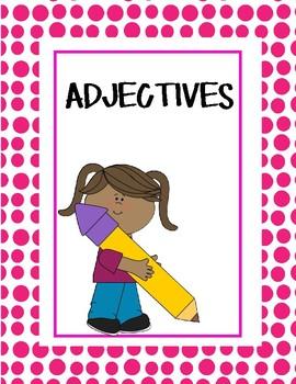 Language Arts Grammar- Adjectives that compare nouns