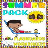 Summer Review ELA Grammar Kindergarten 1st Grade No-Prep W