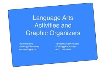 Language Arts Graphic Organizer Activities