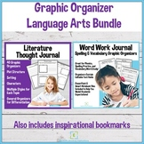 Language Arts Graphic Organizer Bundle- Vocabulary and Literature