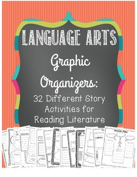 Language Arts Graphic Organizers: 32 CCSS Aligned for Literature