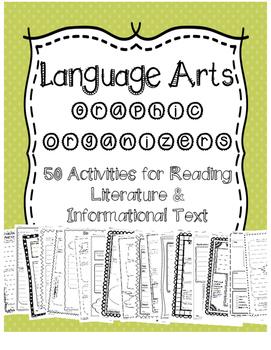 Language Arts Graphic Organizers