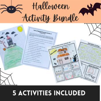 Language Arts Halloween Bundle