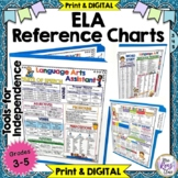 ELA Reference Chart Student Tool - Language Arts Student O
