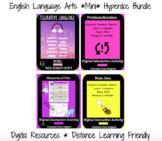 ELA Hyperdoc Bundle: Main Idea, Problem Solution, Plot, & Figurative Language