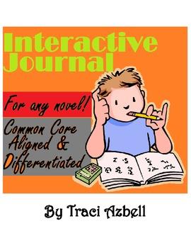 English Language Arts Interactive Journal **For Any Novel!