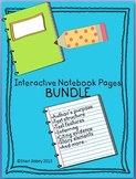Language Arts Interactive Notebook Bundle