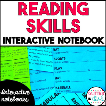 Language Arts - Reading Interactive Notebook