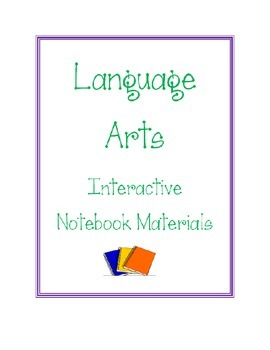 Language Arts Interactive Student Notebook Resource